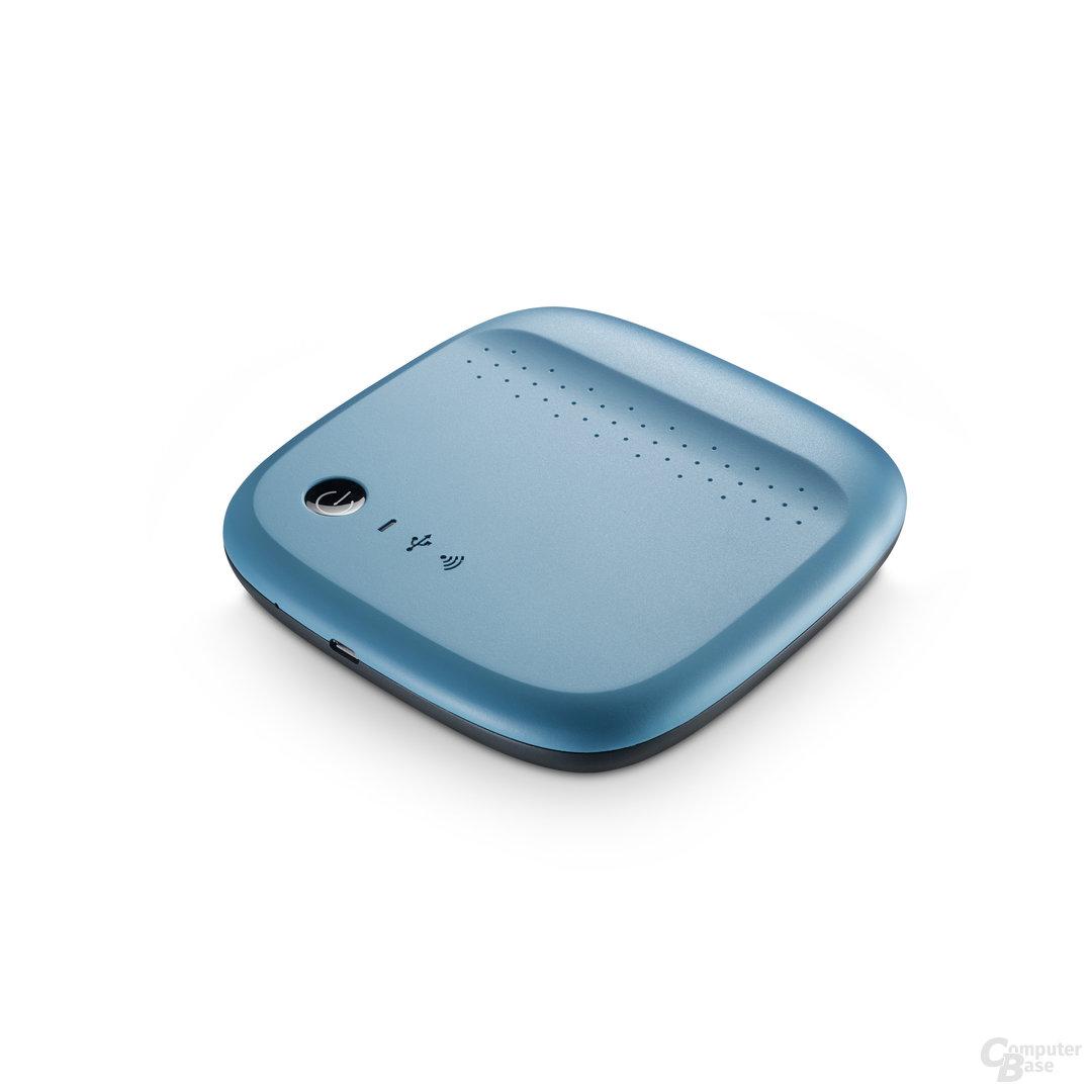 Seagate Wireless Blau