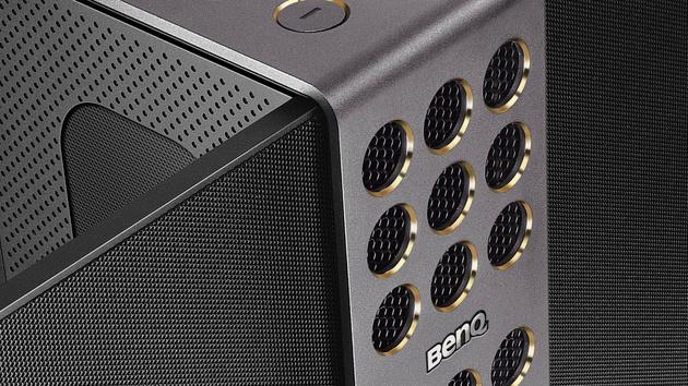 BenQ treVolo: Tragbarer Bluetooth-Lautsprecher mit Elektrostatik