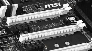 MSI X99S SLI Krait Edition: X99-Mainboard ebenfalls in Schwarz und Weiß