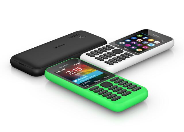 Das Microsoft Nokia 215 für 29 Euro
