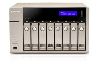 QNAP TVS-863 NAS