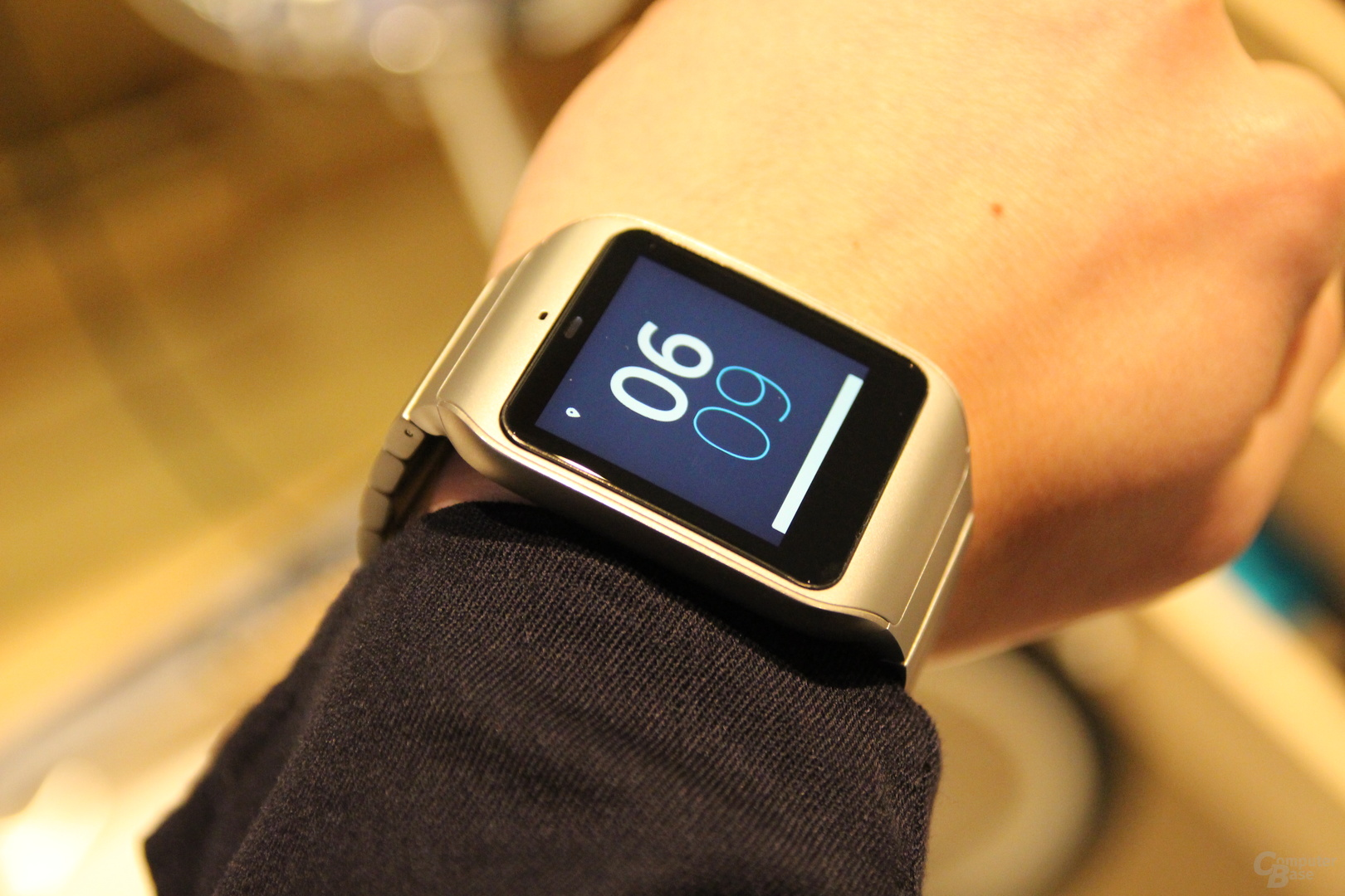Sony SmartWatch 3 Edelstahl CES 2015