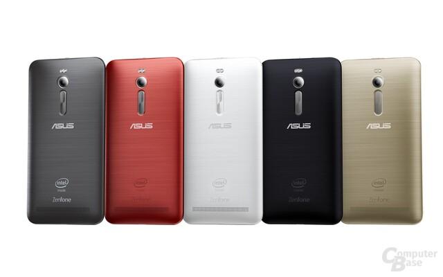 Farbvarianten des Asus ZenFone 2