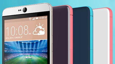 HTC Desire 826: UltraPixel-Kamera und Android 5.0 für 329 Euro