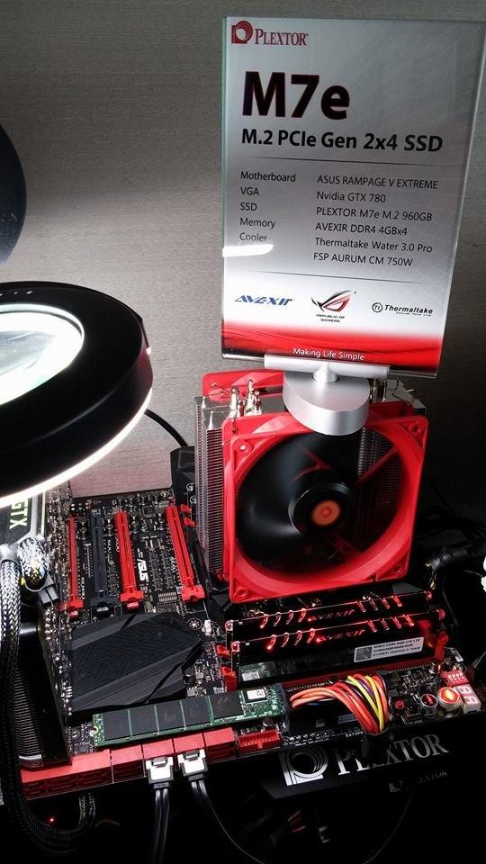 PCIe-SSD Plextor M7e im M.2-Format