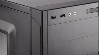 Carbide 100R: Corsairs erstes Gehäuse für 50 Euro ist schlicht