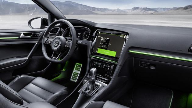 Golf R Touch: Volkswagen gibt Ausblick auf zukünftige Bedienkonzepte