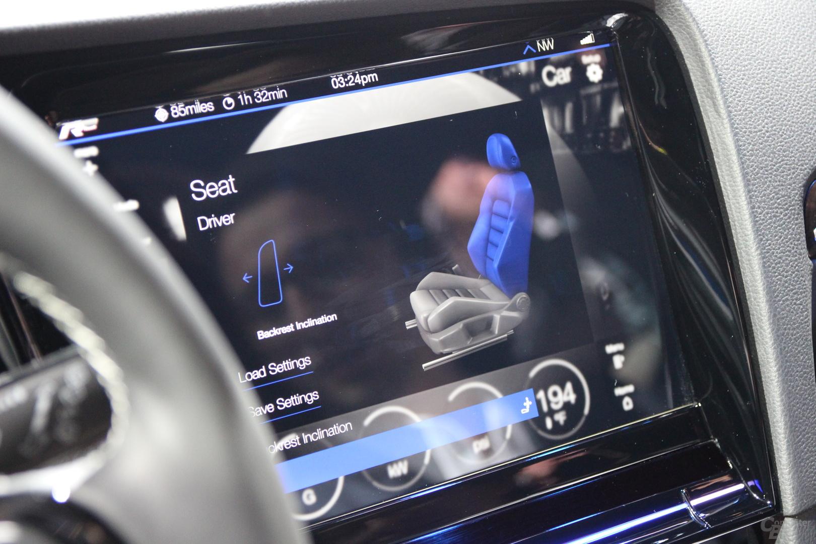 VW Golf R Touch auf der CES 2015