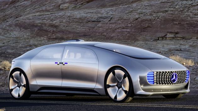 Mercedes-Benz F 015: Im Jahr 2030 wird autonom und ohne Knöpfe gefahren