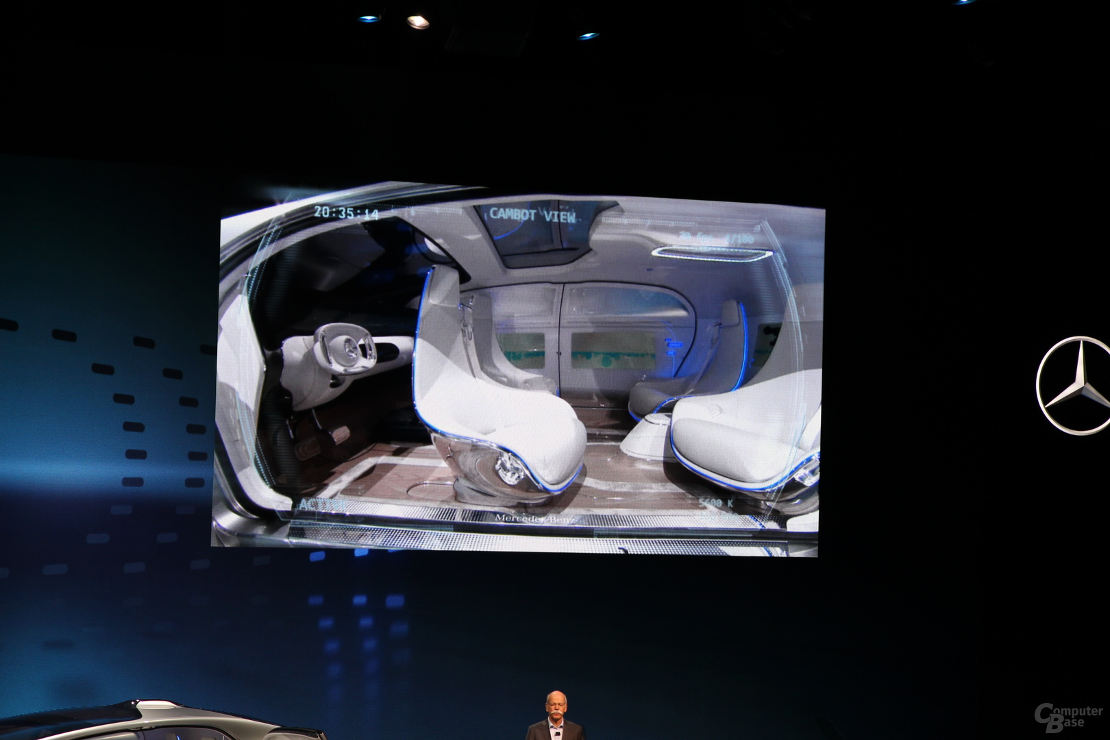 Premiere des Mercedes-Benz F 015 Luxury in Motion