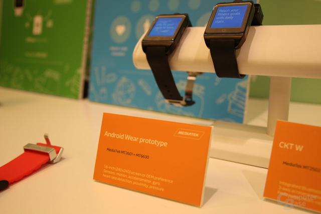 Android-Wear-Prototypen mit MT2601 und MT6630
