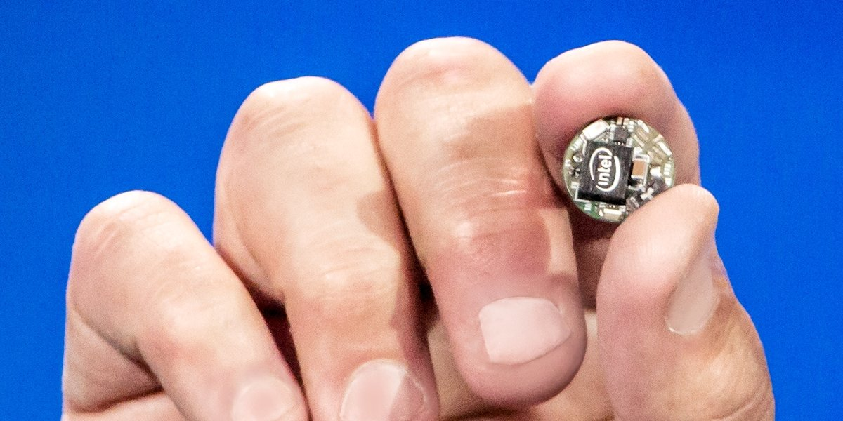 Intel Curie als Mini-PC für Wearables