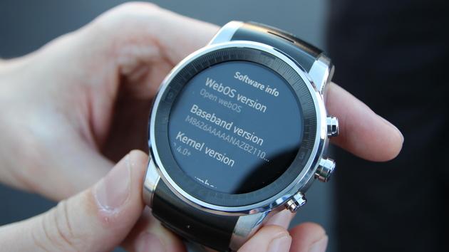 WebOS: Die LG-Smartwatch für Audi läuft nicht mit Android Wear
