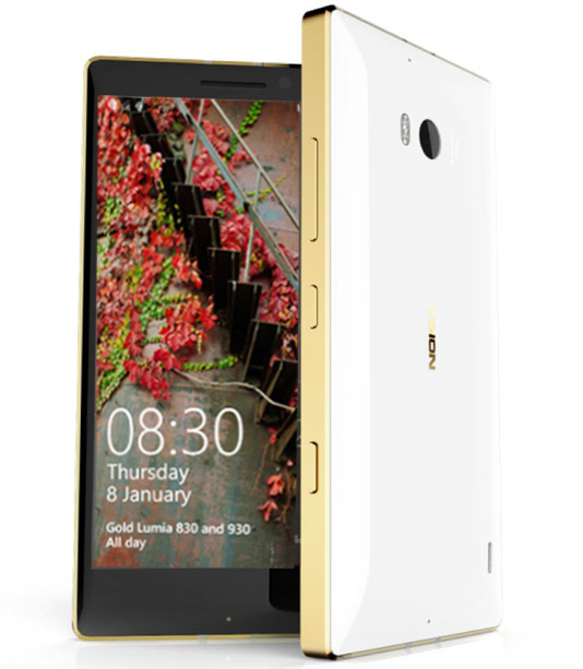 Nokia Lumia 930 in Gold