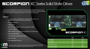 Mushkin Scorpion XC mit vier Controllern im RAID