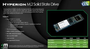 Mushkin Hyperion mit bis zu 2,8 GB/s