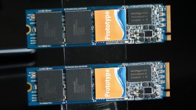 SSD: Stapel-RAID, NVMe und zweimal Phison von Mushkin