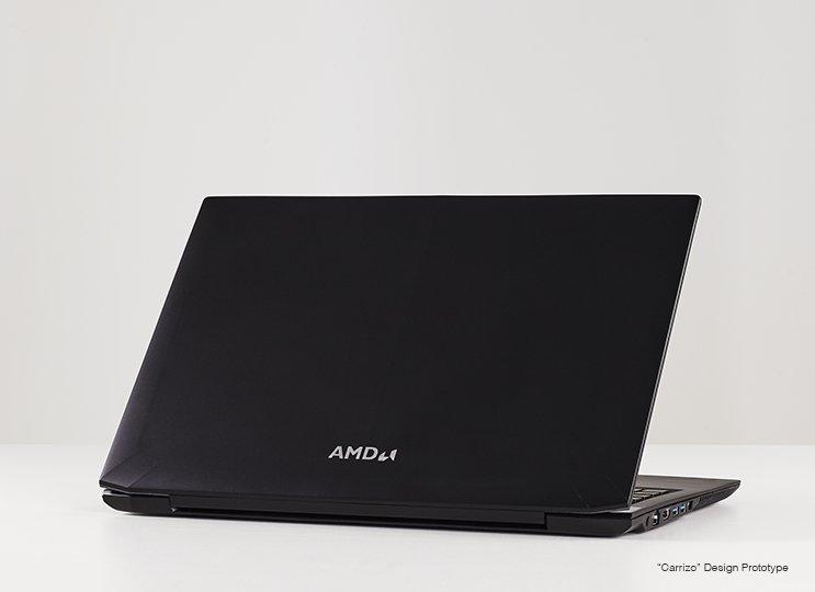 Notebook-Prototyp mit AMD Carrizo
