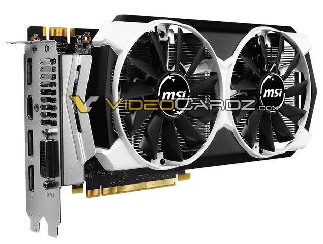 MSI GeForce GTX960 mit Twin Frozr V Kühler