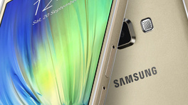 Samsung Galaxy A7: 6,3 mm dünnes Metall-Smartphone mit Dual-SIM-Option