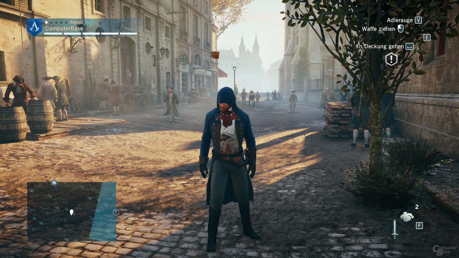 Assassin's Creed: Unity – alle Gameworks-Effekte