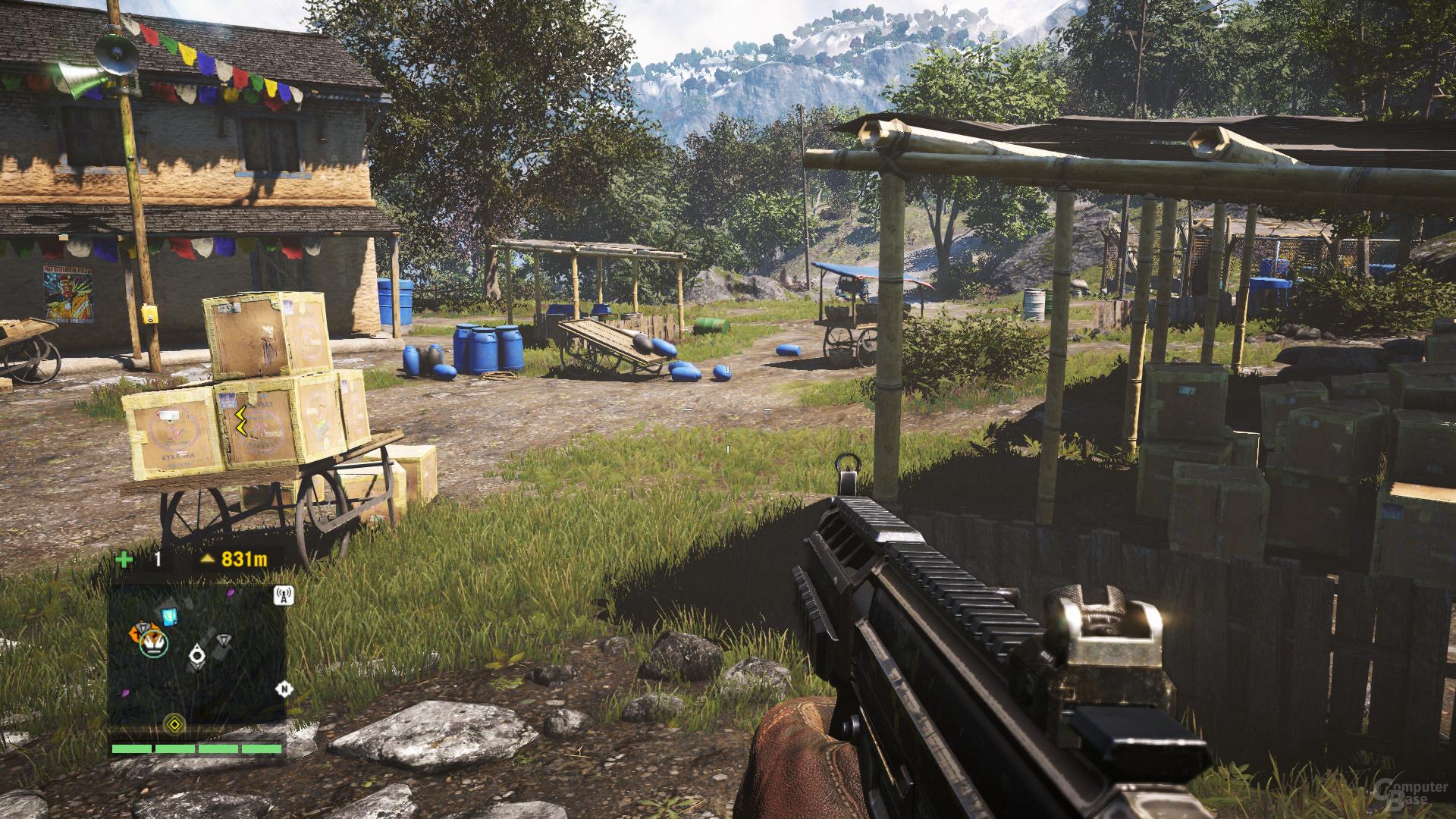 Far Cry 4 – alle Gameworks-Effekte