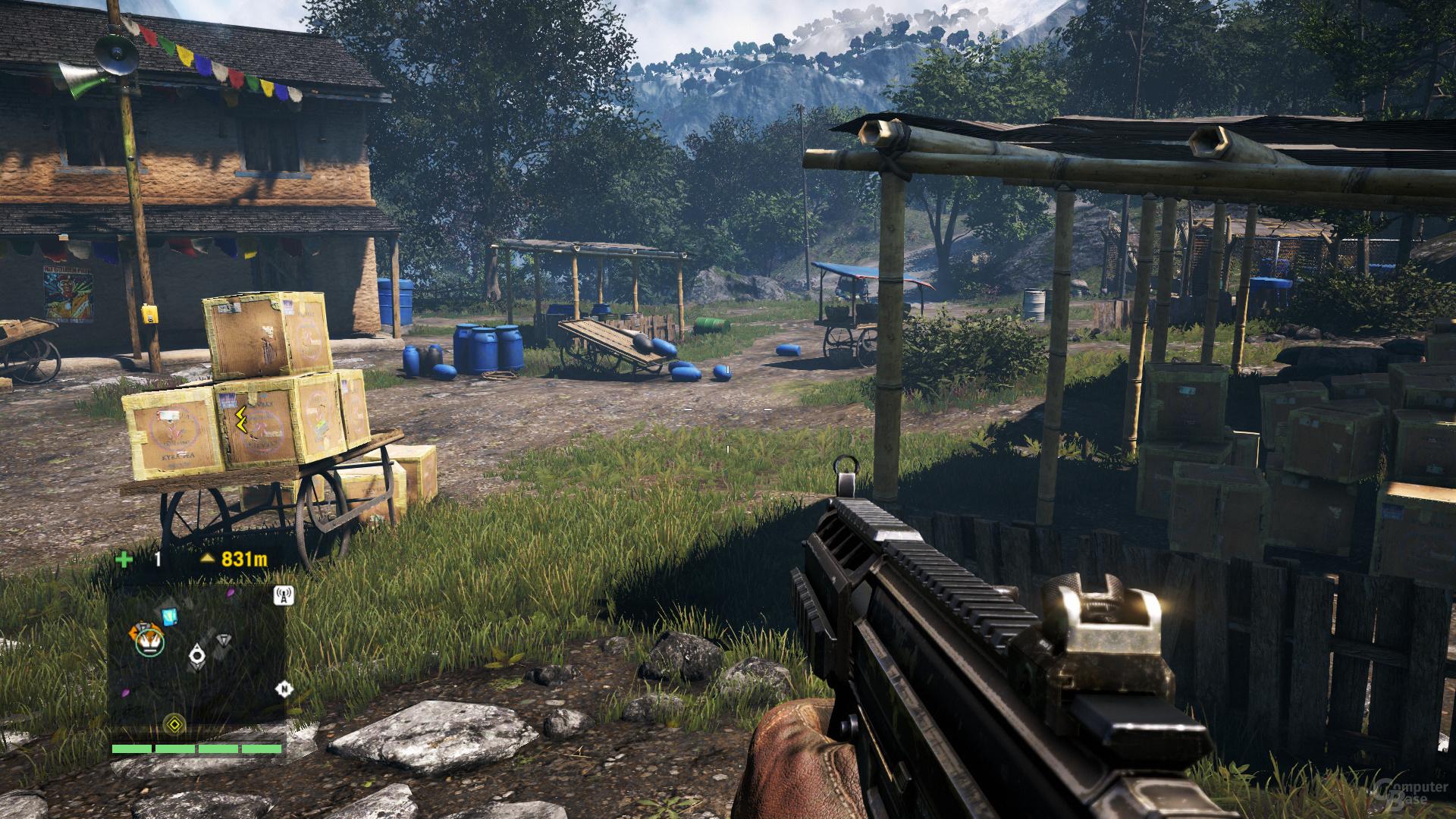 Far Cry 4 – ohne Gameworks