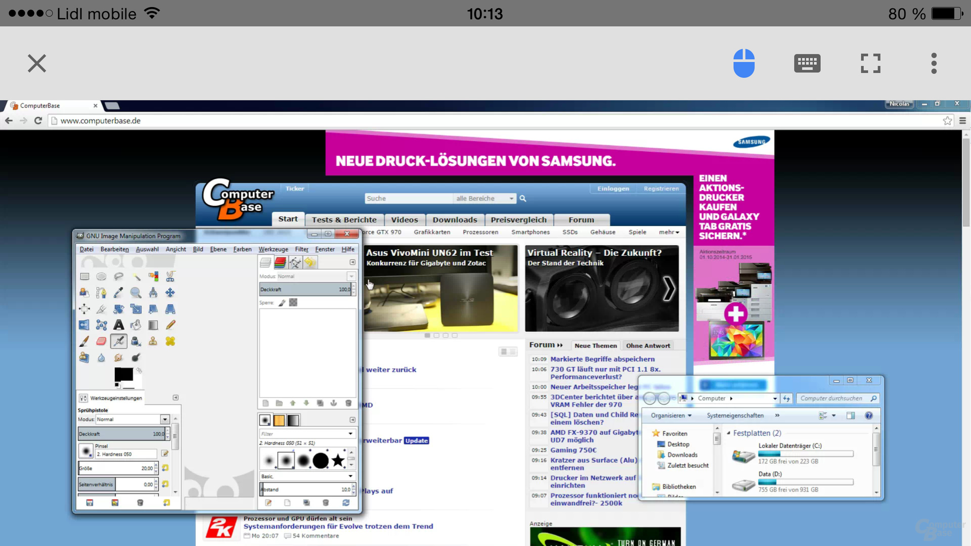 Chrome Remote Desktop für iOS