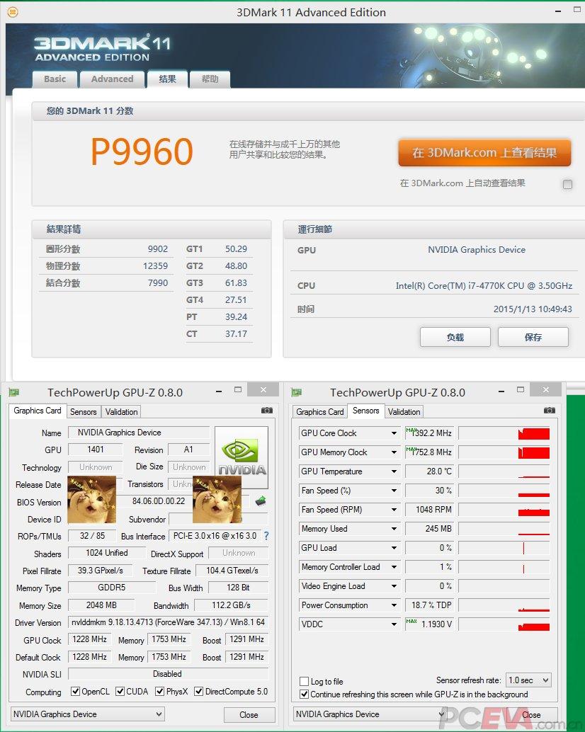 Spezifikationen der GeForce GTX 960