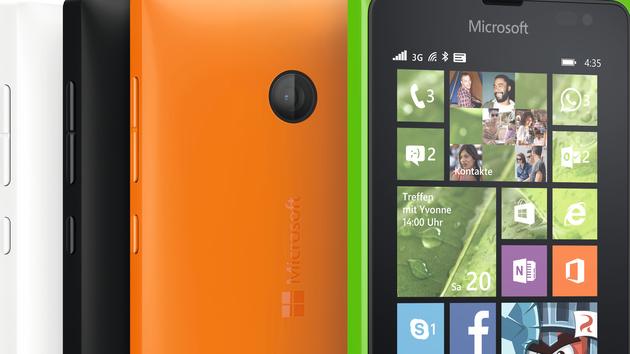 Lumia 435 und 532: Microsoft greift für 89 und 99 Euro die Einsteigerklasse an