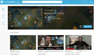 Dailymotion Games (Hauptseite)