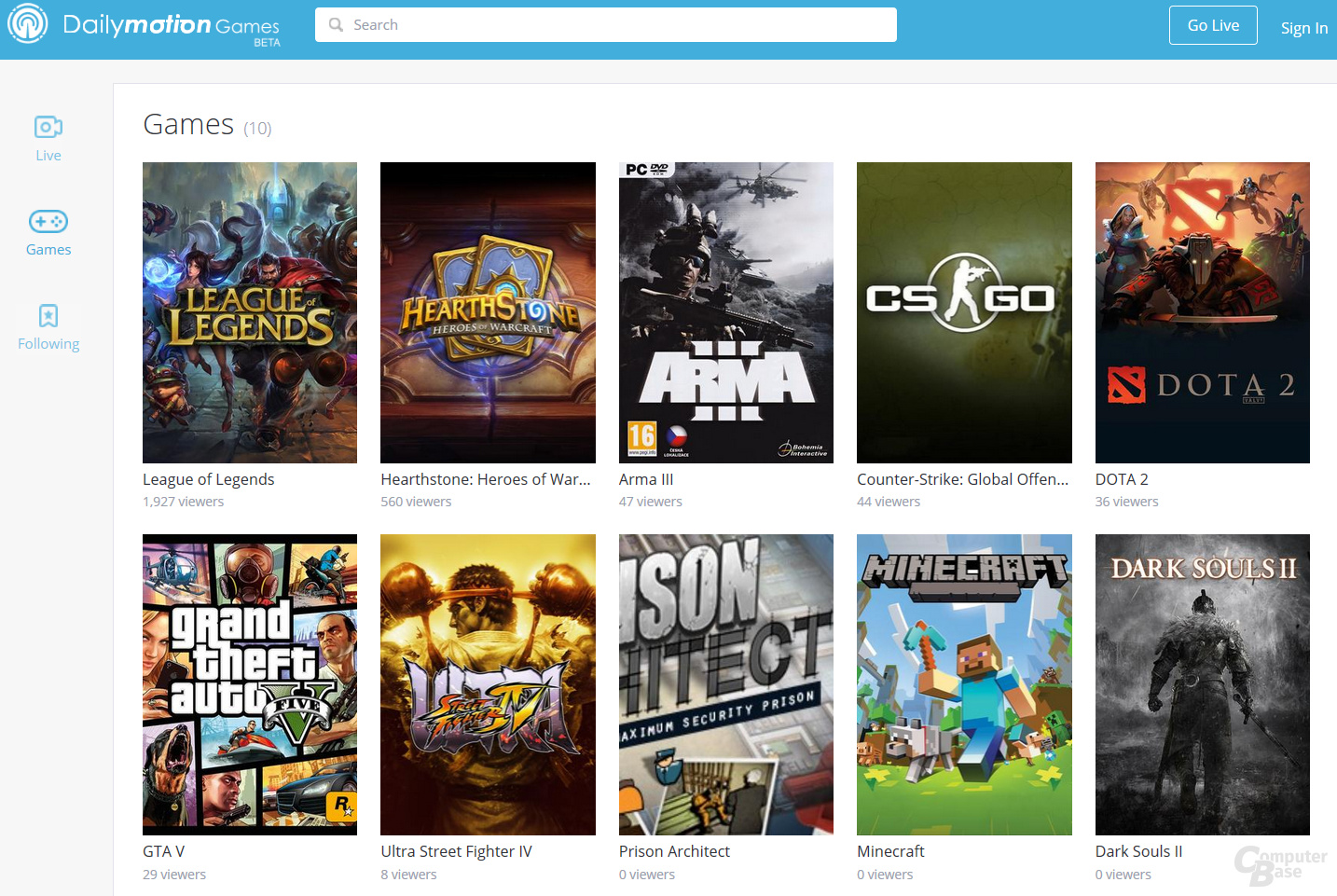 Dailymotion Games (Spiele)