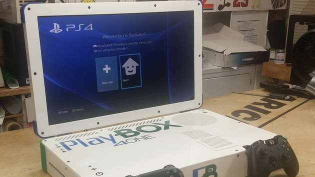 PlayBox: PlayStation 4 und Xbox One als Notebook vereint