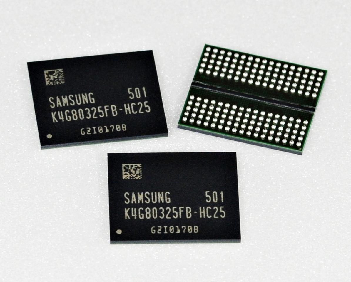 Samsungs GDDR5-Speicher mit 8 Gbit