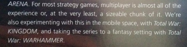 Total War: Warhammer wird in einem kurzen Satz enthüllt