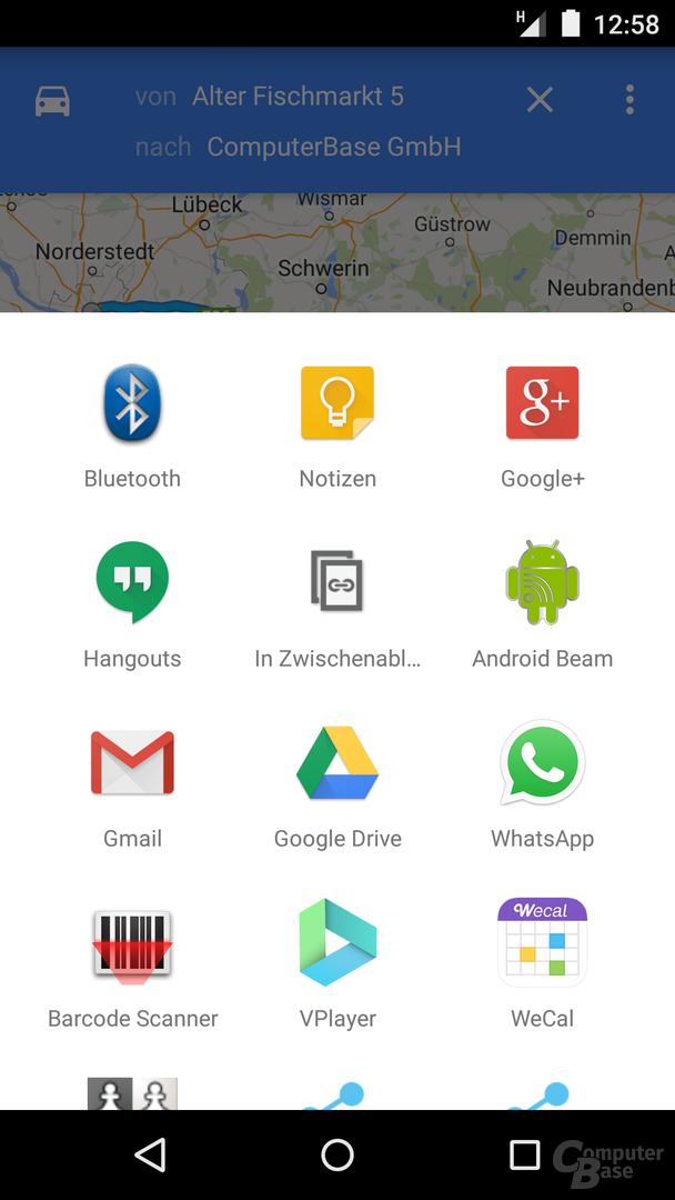 Google Maps 9.3 für Android
