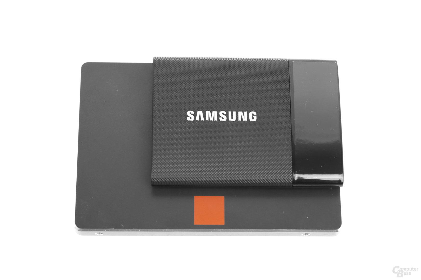 Samsung Portable SSD T1 auf 2,5-Zoll-SSD