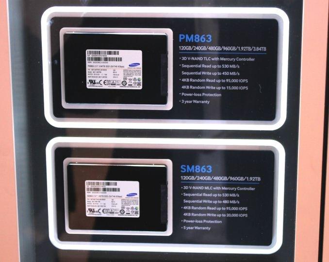 Samsung PM863 und SM863 mit SATA