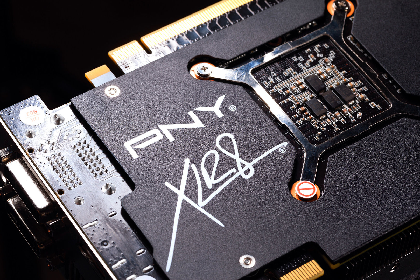 PNY GTX 980 Pure Performance – die Backplate