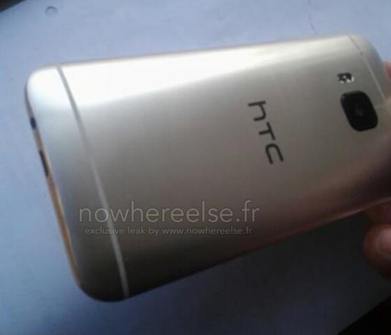 HTC One (M9) – Prototyp Rückseite