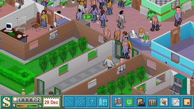 Theme Hospital gehört zu den Hits von Bullfrog