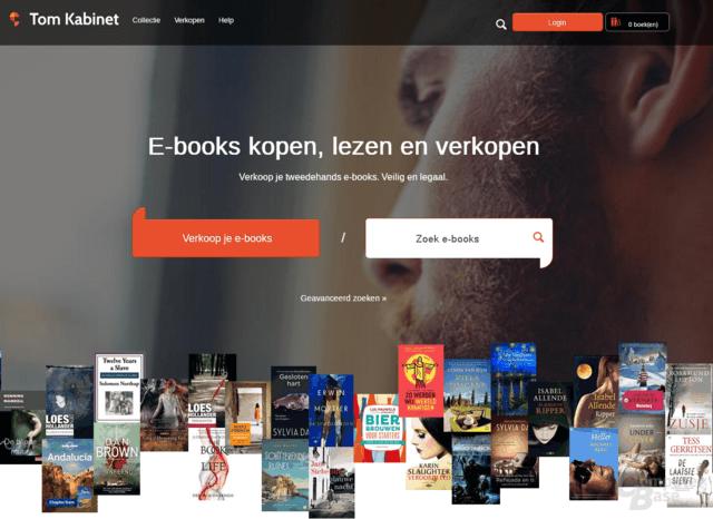 Verkaufsplattform für gebrauchte E-Books Tom Kabinet