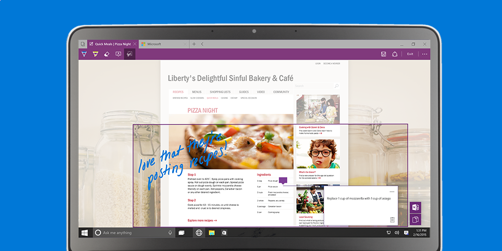Spartan: Neuer Browser in Windows 10