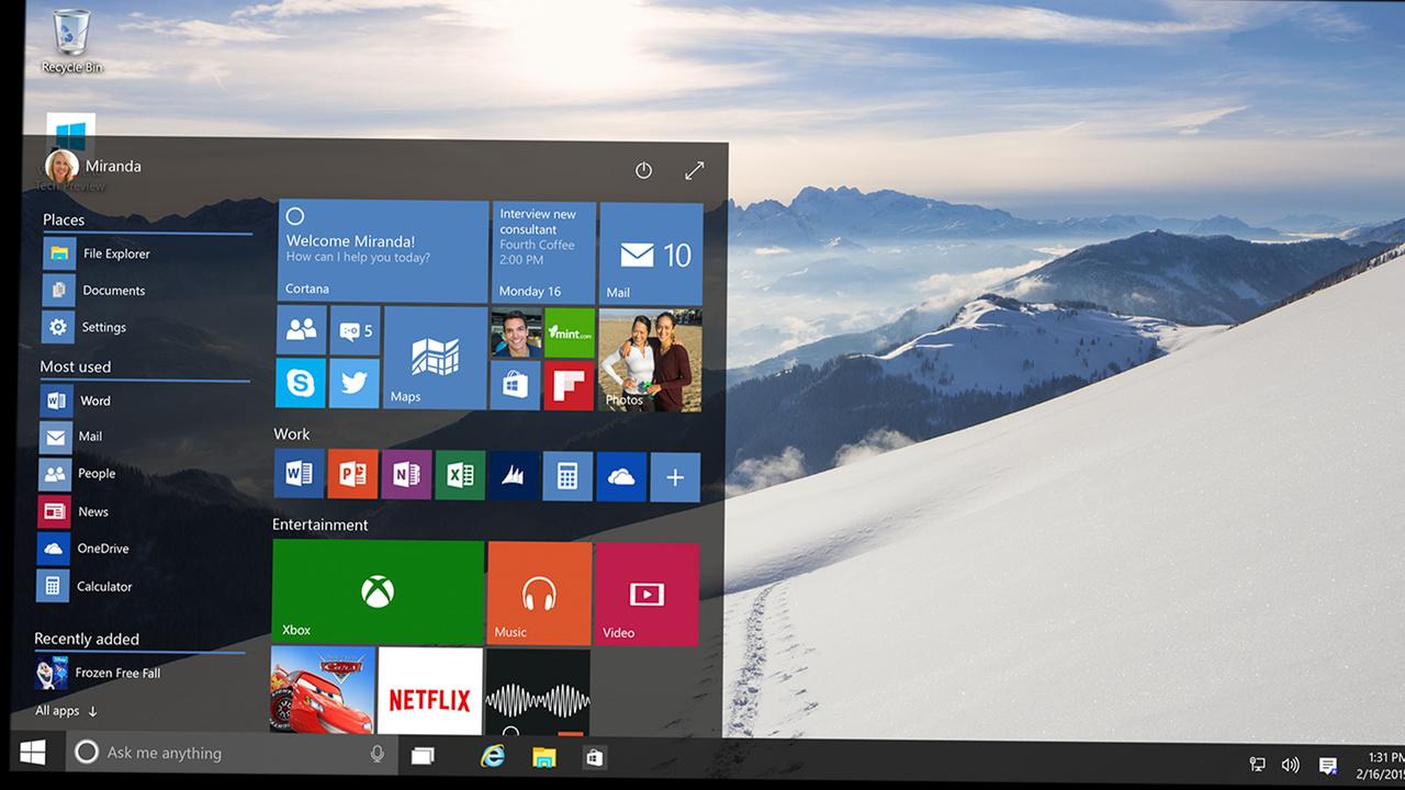 Windows 10: Kostenloses Upgrade für Nutzer von Windows7 und 8