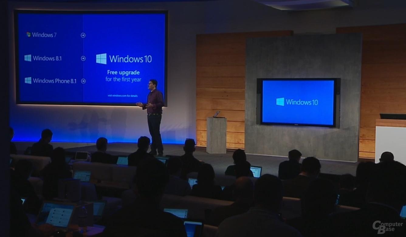 Windows 10: Kostenloses Upgrade