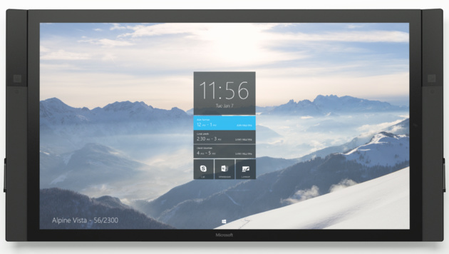 Der Microsoft Surface Hub in 84 Zoll