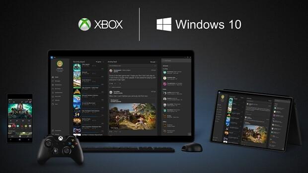 Windows 10 wird die Xbox One mit anderen Geräten verzahnen