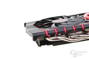 MSI GeForce GTX 960 Gaming 2G - Stromanschluss