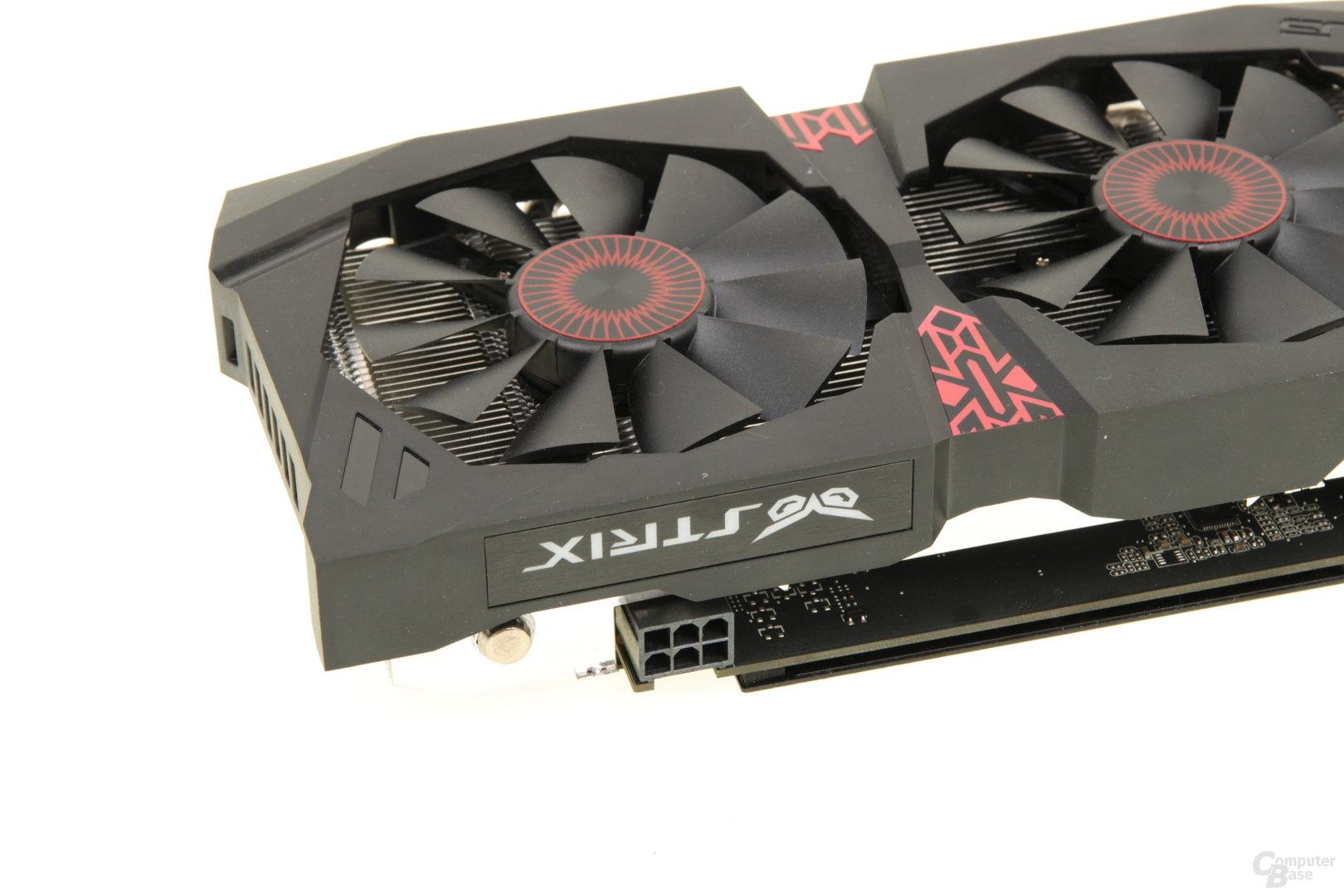 Asus GeForce GTX 960 Strix - Stromanschluss