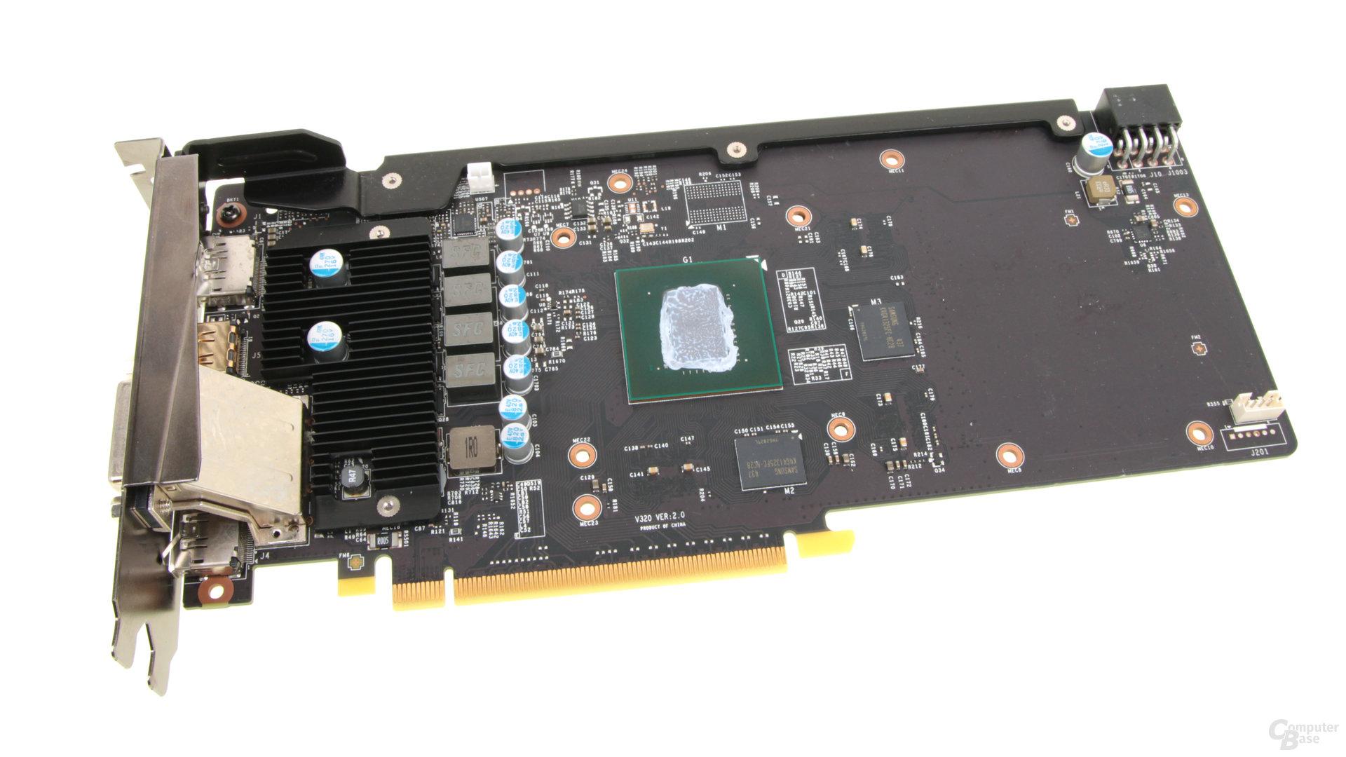 MSI GeForce GTX 960 Gaming 2G - ohne Kühler